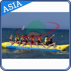 8 Person Single Line Towable Inflatable Banana Boat Water Adventure