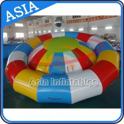 Giant Inflatable Towable Water Sports, Inflatable Disco Boat Water Toy, Crazy UFO, Hurricane Boat