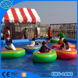 Inflatable Kid Electric Motorized Bumper Boat with Inflatable Tube