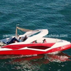 Fiberglass Parasailing Boat with Diesel Inboard Engine