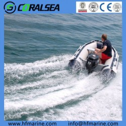 New Design Inflatable Fishing Boat Hsd380