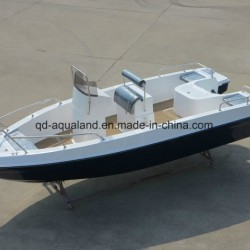 China Aqualand 21feet 6.25m Fiberglass Fishing Boat/Sports Motor Boa