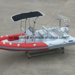 Aqualand 21.5feet Rib Fishing Boat/Rigid Inflatable Diving Boat (RIB650B)