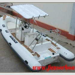 5.8m FRP Boat with Inflatable Tube