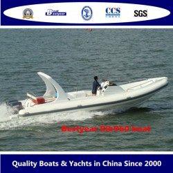 2010 Model Rigid Inflatable Boat of Rib960 Boat