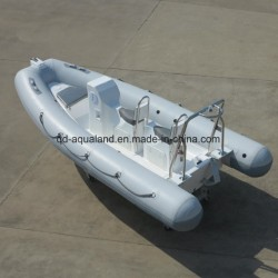 Aqualand 16FT 4.8m Rigid Inflatable Motor Boat/Speed Boat (RIB480T)