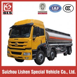 Aluminum Alloy Oil Tanker with FAW Tractor Truck