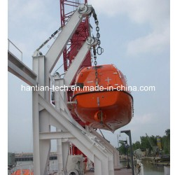Steel Marine Equipment Lifeboat Davit with Solas Approve (HT60)