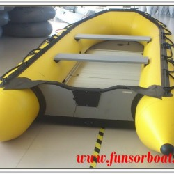 3.6m Folding Inflatable Boat with Aluminum Floor