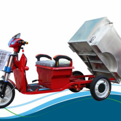 2017 Hot Products 500W Garbage Cleaning Tricycle