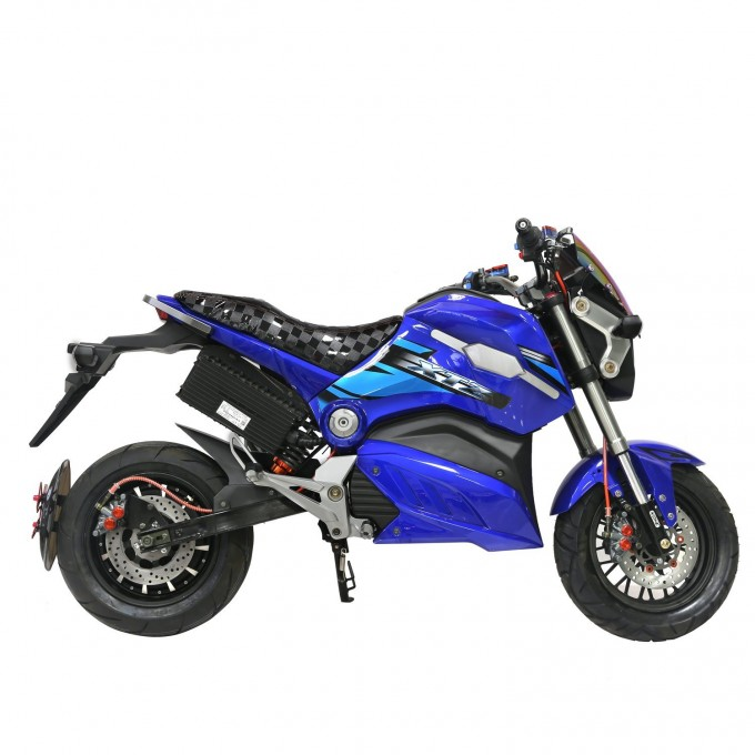 2000W Motor Hydraulic Suspension Scooter Powerful Motorcycle for Sale Image1