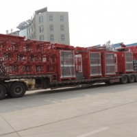 China Ce Approved Construction Elevator Sc200/200 2 Cages