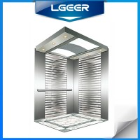 Hairline Stainless Steel Passenger Elevator with Germany Technology