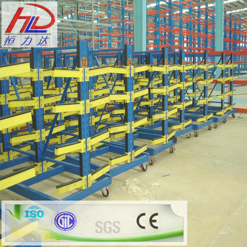 Warehouse Storage Rack with Steel Cantilever Image1