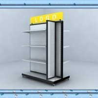 Steel Supermarket Store Stand Rack for Display