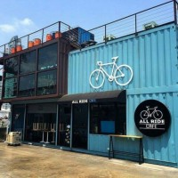 45FT Shipping Container Restaurant