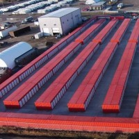 40FT Shipping Storage Container 40FT Side Open Self Storage Containe