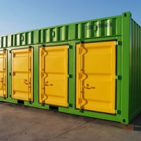 20ft Side Open New Storage Shipping Container in Qingdao