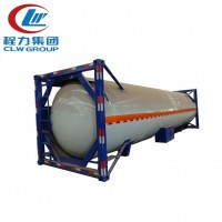 Factory Sell 20ft Used LPG ISO Tank Container with Tractor