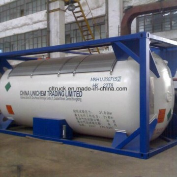 China Sell 10 Tons 20000 Liters LPG Tank Container for Nigeria GhanaImage