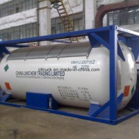 China Sell 10 Tons 20000 Liters LPG Tank Container for Nigeria Ghana