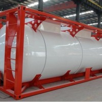 China Manufacture ISO 20ft LPG Tank Container Tank Top Safety 40ft Tank Container