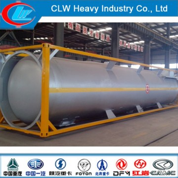 40ft LPG Tank Container 40feet Tank Container Propane Tanker ContainerImage
