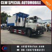 Good Sales 12cbm Hook Lift Garbage Compactor Container Truck