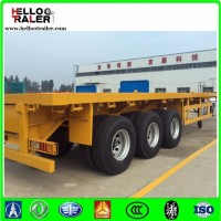 3 Axle 40FT Flatbed Container Platform Trailer