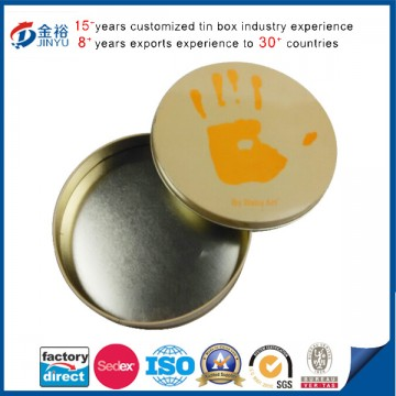 Metal Packaging Tin Box Wholesale Round ShapeImage