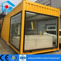 Durable New Prefabricated Modular Vacation Hotel Steel Home Containe