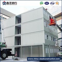 Modular Steel Structure Office Container (Container House)