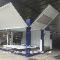 40FT Luxury China Manufactured Expandable Container House, Folded Container House