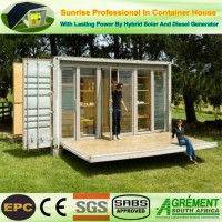 Prefabcontainer House, Collapsible Container Home, Living / Office / Toilet Container