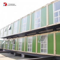 Customized Living Prefabricated Container House in Kenya