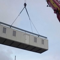Low Cost Prefab Flat Pack Office Container House