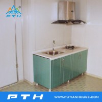 Prefabricated Container for Integrated Kitchen/Cook House Customized