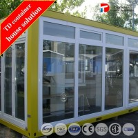 White or Yellow Prefabricated Expandable Container House