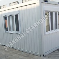 2/4 People 20FT Flat Pack Refugees Container House Made in China (SH