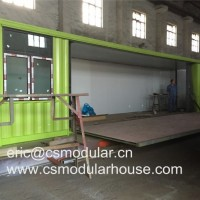 20FT/40FT Expandable Cabin Flat Pack Container House From Professional Manufacturer