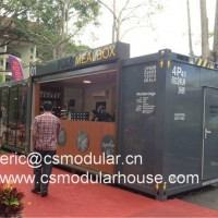 Living Container House, Container Bar, Prefabricated Container Bar/Modular Shop Bar/Beach Bar