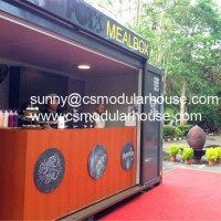 Prefab Luxury Coffee Container for Kiosk
