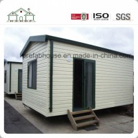 Economic Flat Pack PVC Cladding Prefab Container Office House for Sale