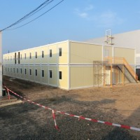 Office Container with Multi Floor Building (CILC)