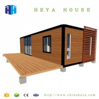 Prefab Steel Container Homes 40FT Luxury Villa House Prefabricated