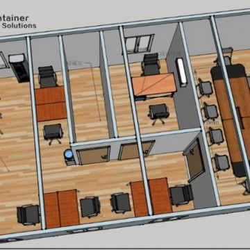 Prefabricated Steel Sheet Container OfficeImage