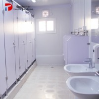 Modular Toilet with Container Toilet
