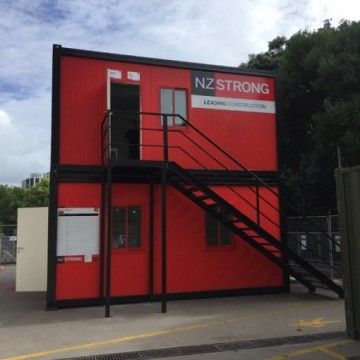 Prefabricated Office Container New Zealand for SaleImage
