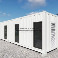 Morden Design Modular Prefab Insulated Container for Office.