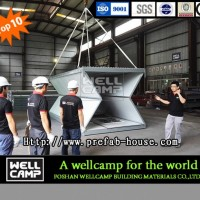 Wellcamp Portable Prefab Folding Container Home